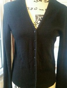 Eileen Fisher silk button down Sweater Cardigan XS